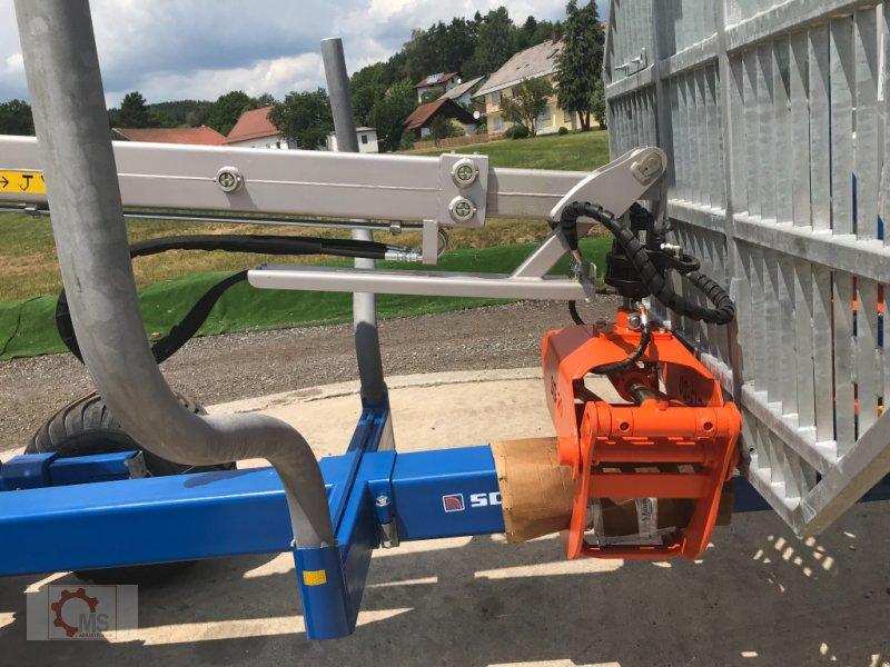 Rückewagen & Rückeanhänger des Typs Scandic ST-10S 13t 7,9m Kran 550kg Hubkraft Druckluft, Neumaschine in Tiefenbach (Bild 9)