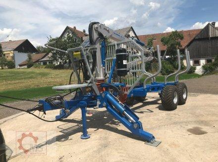 Rückewagen & Rückeanhänger des Typs Scandic ST-10S 13t 7,9m Kran 550kg Hubkraft Druckluft, Neumaschine in Tiefenbach (Bild 15)