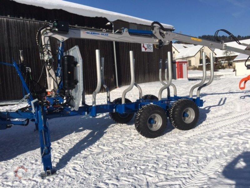 Rückewagen & Rückeanhänger des Typs Scandic ST-10S 13t 7,9m Kran Druckluft Winde 40% Förderung, Neumaschine in Tiefenbach (Bild 2)