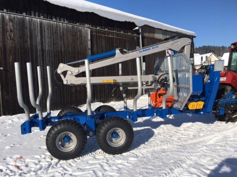 Rückewagen & Rückeanhänger des Typs Scandic ST-10S 13t 7,9m Kran Druckluft Winde 40% Förderung, Neumaschine in Tiefenbach (Bild 3)