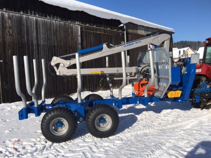 Rückewagen & Rückeanhänger des Typs Scandic ST-10S 13t 7,9m Kran Druckluft Winde, Neumaschine in Tiefenbach (Bild 2)
