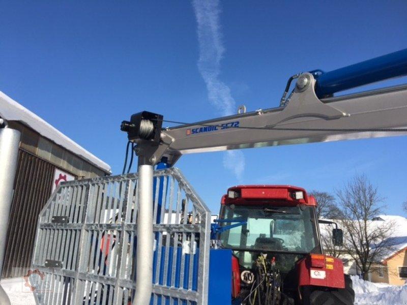 Rückewagen & Rückeanhänger des Typs Scandic ST-10S 13t 7,9m Kran Druckluft Winde, Neumaschine in Tiefenbach (Bild 14)
