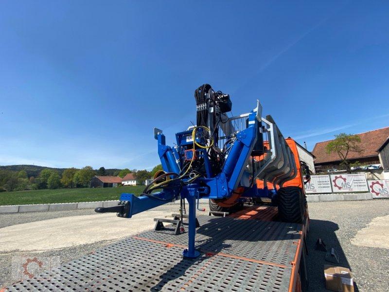 Rückewagen & Rückeanhänger des Typs Scandic ST-10S 13t 9m 750kg Kran Druckluft Seilwinde Radantrieb, Neumaschine in Tiefenbach (Bild 3)