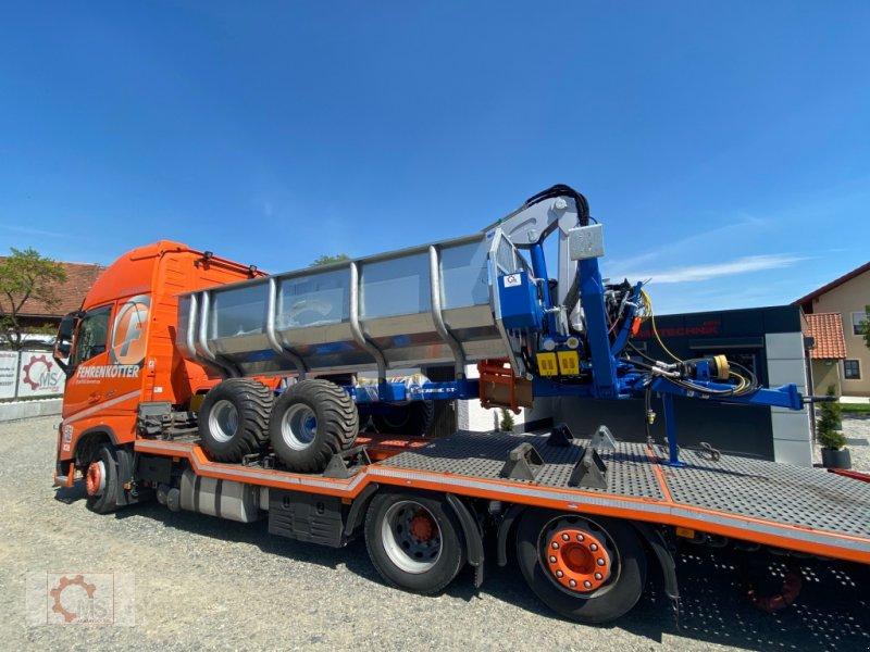 Rückewagen & Rückeanhänger des Typs Scandic ST-10S 13t 9m 750kg Kran Druckluft Seilwinde Radantrieb, Neumaschine in Tiefenbach (Bild 4)