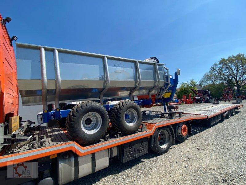 Rückewagen & Rückeanhänger des Typs Scandic ST-10S 13t 9m 750kg Kran Druckluft Seilwinde Radantrieb, Neumaschine in Tiefenbach (Bild 6)