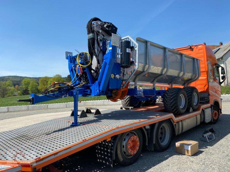 Rückewagen & Rückeanhänger des Typs Scandic ST-10S 13t 9m Kran 750kg Hubkraft Druckluft Seilwinde Radantrieb, Neumaschine in Tiefenbach (Bild 2)