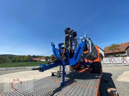 Rückewagen & Rückeanhänger des Typs Scandic ST-10S 13t 9m Kran 750kg Hubkraft Druckluft Seilwinde Radantrieb, Neumaschine in Tiefenbach (Bild 5)