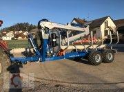 Scandic ST-12D 16t 9m 750kg Kran Druckluft Funkfernsteuerung Трелевочные прицепы