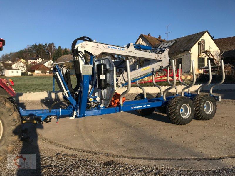 Rückewagen & Rückeanhänger des Typs Scandic ST-12D 16t 9m 750kg Kran Druckluft Funkfernsteuerung, Neumaschine in Tiefenbach (Bild 4)