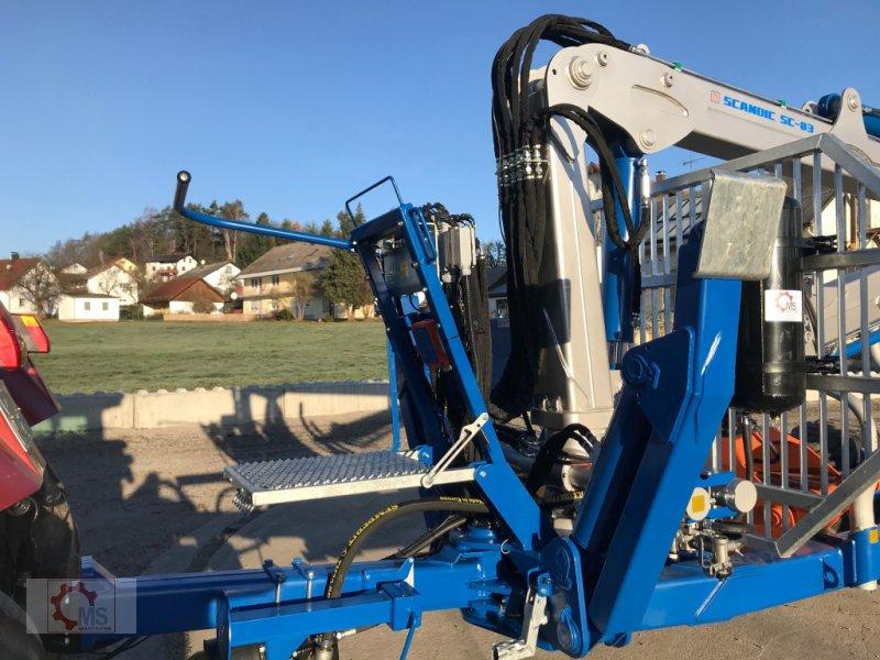 Rückewagen & Rückeanhänger des Typs Scandic ST-12D 16t 9m 750kg Kran Druckluft Funkfernsteuerung, Neumaschine in Tiefenbach (Bild 5)