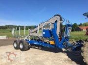 Rückewagen & Rückeanhänger des Typs Scandic ST-12D 16t 9m 750kg Kran Druckluft Seilwinde, Neumaschine in Tiefenbach