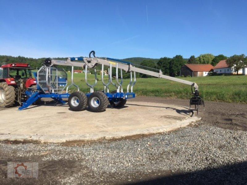 Rückewagen & Rückeanhänger des Typs Scandic ST-12D 16t 9m 750kg Kran Druckluft Seilwinde, Neumaschine in Tiefenbach (Bild 10)