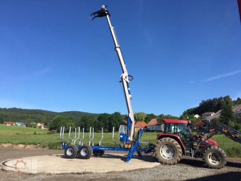 Rückewagen & Rückeanhänger des Typs Scandic ST-12D 16t 9m 750kg Kran Druckluft Seilwinde, Neumaschine in Tiefenbach (Bild 20)