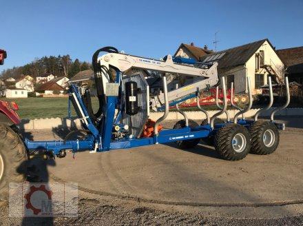 Rückewagen & Rückeanhänger des Typs Scandic ST-12D 16t 9m Kran 750kg Hubkraft Druckluft Funkfernsteuerung, Neumaschine in Tiefenbach (Bild 1)