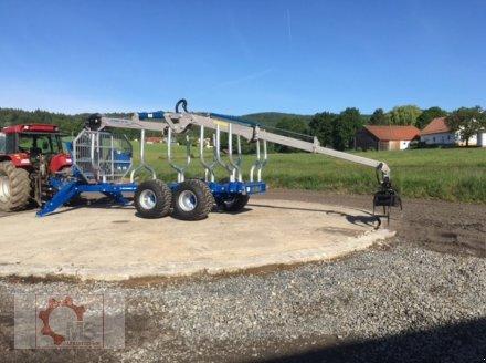 Rückewagen & Rückeanhänger des Typs Scandic ST-12D 16t 9m Kran 750kg Hubkraft Druckluft Seilwinde, Neumaschine in Tiefenbach (Bild 6)