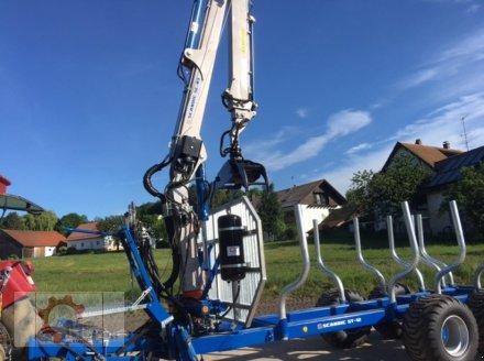Rückewagen & Rückeanhänger des Typs Scandic ST-12D 16t 9m Kran 750kg Hubkraft Druckluft Seilwinde, Neumaschine in Tiefenbach (Bild 7)