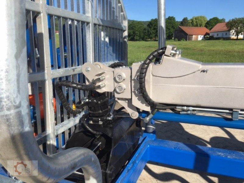 Rückewagen & Rückeanhänger des Typs Scandic ST-12D 16t 9m Kran 750kg Hubkraft Druckluft Seilwinde, Neumaschine in Tiefenbach (Bild 9)