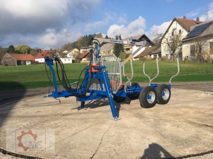Rückewagen & Rückeanhänger des Typs Scandic ST-6 7,4t 4,5m Kran Auflauf- Hydraulische Bremse, Neumaschine in Tiefenbach (Bild 1)