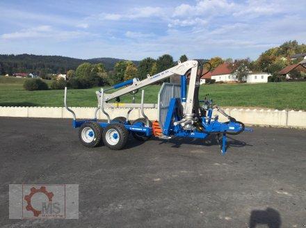 Rückewagen & Rückeanhänger des Typs Scandic ST-6 7,4t 5,9m Kran 600kg Auflauf- Hydraulische Bremse Winde, Neumaschine in Tiefenbach (Bild 2)