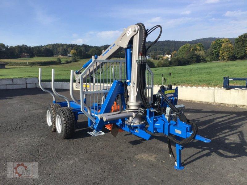 Rückewagen & Rückeanhänger des Typs Scandic ST-6 7,4t 5,9m Kran 600kg Auflauf- Hydraulische Bremse Winde, Neumaschine in Tiefenbach (Bild 4)