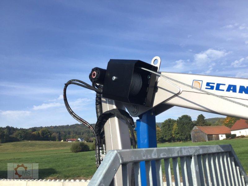 Rückewagen & Rückeanhänger des Typs Scandic ST-6 7,4t 5,9m Kran 600kg Auflauf- Hydraulische Bremse Winde, Neumaschine in Tiefenbach (Bild 10)