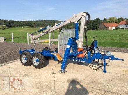 Rückewagen & Rückeanhänger des Typs Scandic ST-6 7,4t 5,9m Kran 600kg Auflauf-Hydraulische Bremse, Neumaschine in Tiefenbach (Bild 2)
