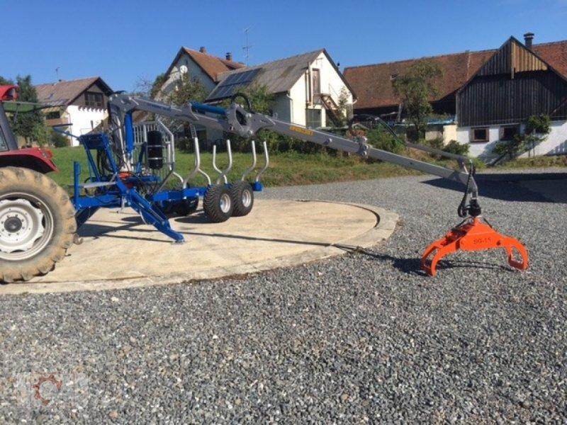 Rückewagen & Rückeanhänger des Typs Scandic ST-8 10,5t 7,1m Kran 600kg Druckluft 40% Förderung, Neumaschine in Tiefenbach (Bild 11)