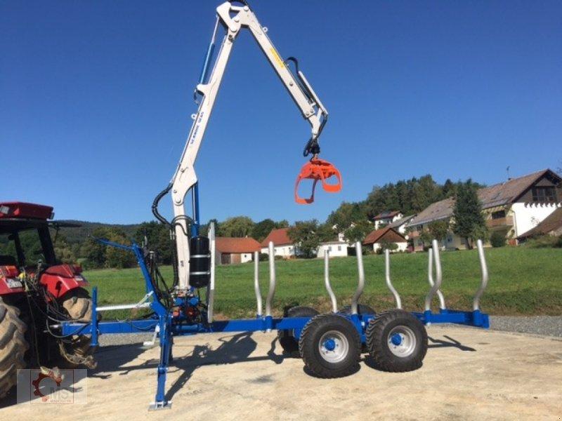 Rückewagen & Rückeanhänger des Typs Scandic ST-8 10,5t 7,1m Kran 600kg Druckluft 40% Förderung, Neumaschine in Tiefenbach (Bild 15)