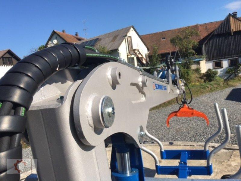 Rückewagen & Rückeanhänger des Typs Scandic ST-8 10,5t 7,1m Kran 600kg Druckluft 40% Förderung, Neumaschine in Tiefenbach (Bild 27)