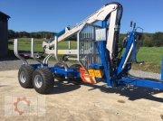 Scandic ST-8 10,5t 7,1m Kran 600kg Druckluft Трелевочные прицепы
