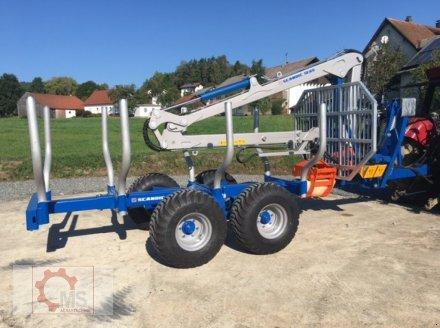 Rückewagen & Rückeanhänger des Typs Scandic ST-8 10,5t 7,1m Kran 600kg Hubkraft Druckluft, Neumaschine in Tiefenbach (Bild 3)