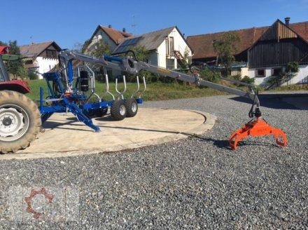 Rückewagen & Rückeanhänger des Typs Scandic ST-8 10,5t 7,1m Kran 600kg Hubkraft Druckluft, Neumaschine in Tiefenbach (Bild 7)