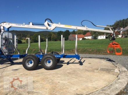 Rückewagen & Rückeanhänger des Typs Scandic ST-8 10,5t 7,1m Kran 600kg Hubkraft Druckluft, Neumaschine in Tiefenbach (Bild 24)