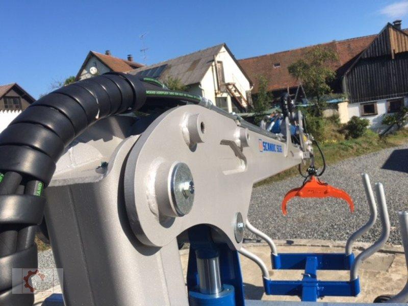 Rückewagen & Rückeanhänger des Typs Scandic ST-8 10,5t 7,1m Kran 600kg Hubkraft Druckluft, Neumaschine in Tiefenbach (Bild 25)
