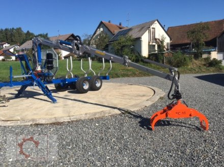 Rückewagen & Rückeanhänger des Typs Scandic ST-8 10,5t 7,1m Kran 600kg Hubkraft Druckluft, Neumaschine in Tiefenbach (Bild 26)