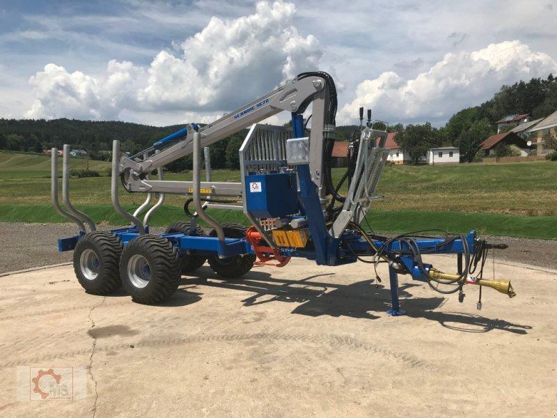 Rückewagen & Rückeanhänger des Typs Scandic ST-8 10,5t 7,9m Kran 550kg Druckluft sofort verfügbar 40% Förderung, Neumaschine in Tiefenbach (Bild 1)