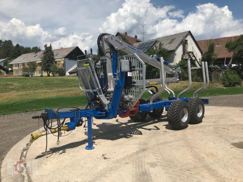 Rückewagen & Rückeanhänger des Typs Scandic ST-8 10,5t 7,9m Kran 550kg Druckluft sofort verfügbar 40% Förderung, Neumaschine in Tiefenbach (Bild 3)