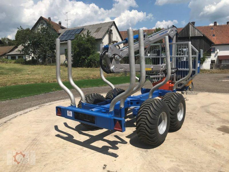 Rückewagen & Rückeanhänger des Typs Scandic ST-8 10,5t 7,9m Kran 550kg Druckluft sofort verfügbar, Neumaschine in Tiefenbach (Bild 12)