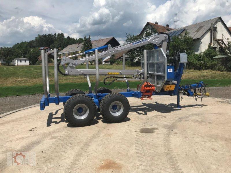 Rückewagen & Rückeanhänger des Typs Scandic ST-8 10,5t 7,9m Kran 550kg Druckluft sofort verfügbar, Neumaschine in Tiefenbach (Bild 14)