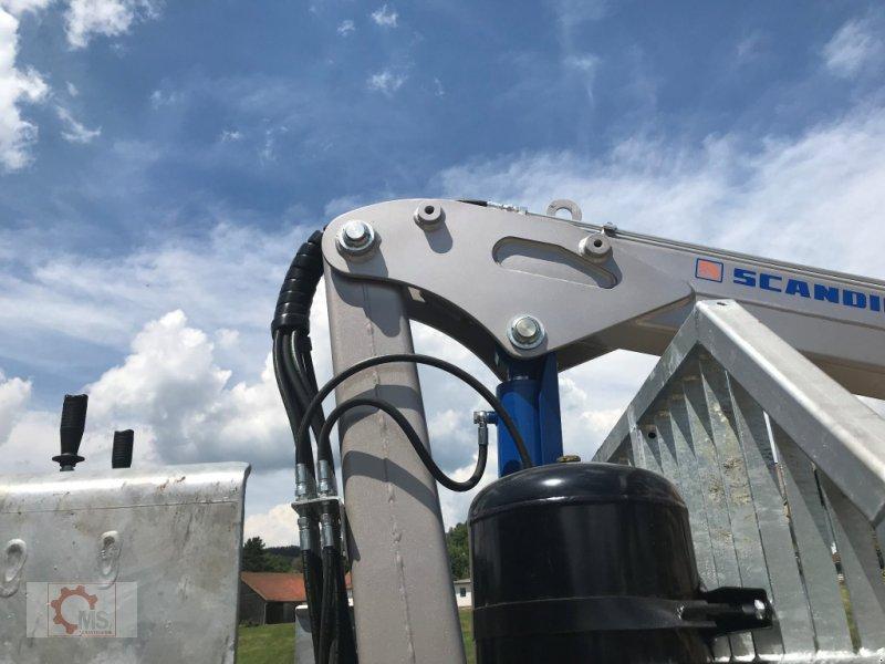 Rückewagen & Rückeanhänger des Typs Scandic ST-8 10,5t 7,9m Kran 550kg Druckluft sofort verfügbar, Neumaschine in Tiefenbach (Bild 20)