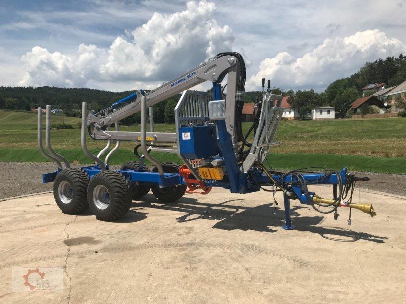 Rückewagen & Rückeanhänger des Typs Scandic ST-8 10,5t 7,9m Kran 550kg Druckluft sofort verfügbar, Neumaschine in Tiefenbach (Bild 2)