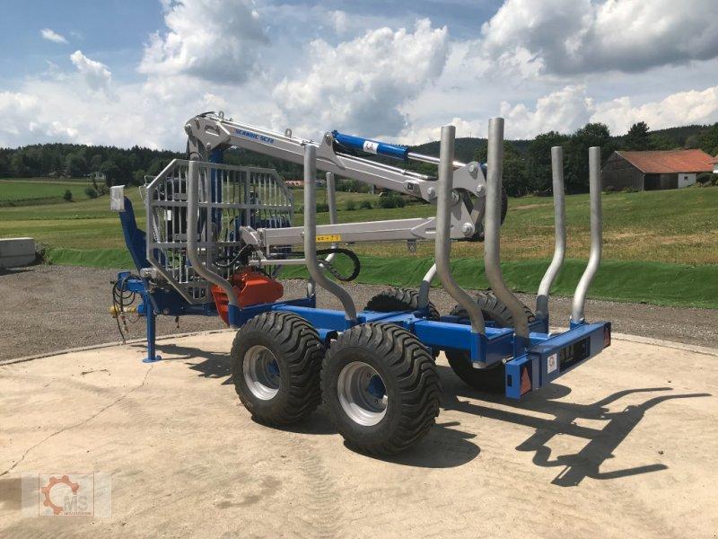 Rückewagen & Rückeanhänger des Typs Scandic ST-8 10,5t 7,9m Kran 550kg Druckluft sofort verfügbar, Neumaschine in Tiefenbach (Bild 6)