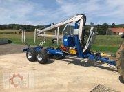 Scandic ST-8 10,5t 7,9m Kran 550kg Druckluft Трелевочные прицепы