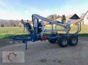 Rückewagen & Rückeanhänger des Typs Scandic ST-8 10,5t 7,9m Kran 550kg Druckluft, Neumaschine in Tiefenbach