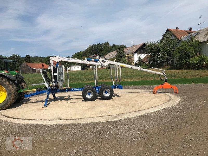 Rückewagen & Rückeanhänger типа Scandic ST-8 10,5t 7,9m Kran 550kg Druckluft, Neumaschine в Tiefenbach (Фотография 13)