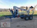 Rückewagen & Rückeanhänger типа Scandic ST-8 10,5t 7,9m Kran 550kg Druckluft в Tiefenbach