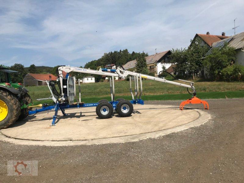 Rückewagen & Rückeanhänger des Typs Scandic ST-8 10,5t 7,9m Kran 550kg Druckluft, Neumaschine in Tiefenbach (Bild 4)