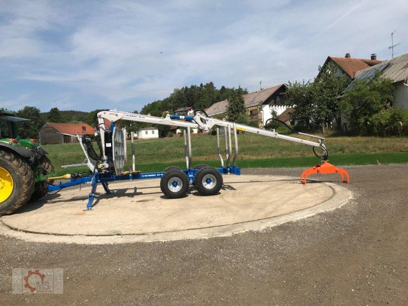 Rückewagen & Rückeanhänger des Typs Scandic ST-8 10,5t 7,9m Kran 550kg Hubkraft Druckluft, Neumaschine in Tiefenbach (Bild 2)