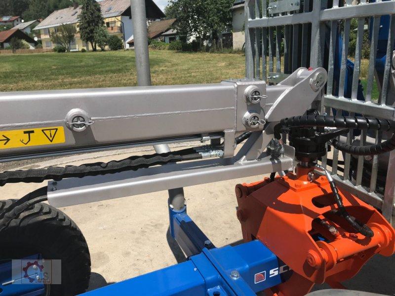 Rückewagen & Rückeanhänger des Typs Scandic ST-8 10,5t 7,9m Kran 550kg Hubkraft Druckluft, Neumaschine in Tiefenbach (Bild 9)