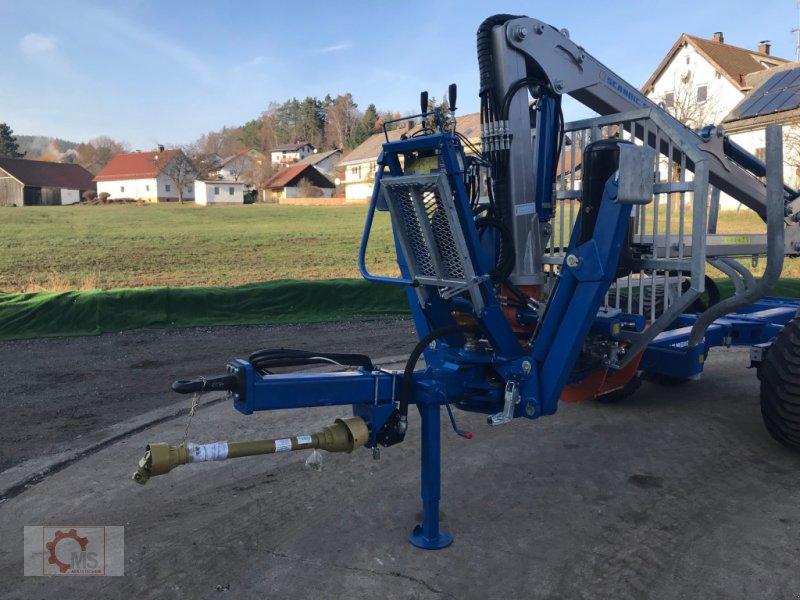 Rückewagen & Rückeanhänger des Typs Scandic ST-8 10,5t 7,9m Kran 550kg Hubkraft, Neumaschine in Tiefenbach (Bild 4)